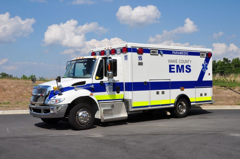wake county EMS vehicle