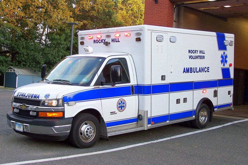 rocky hill ambulance EMS 2011 chevy