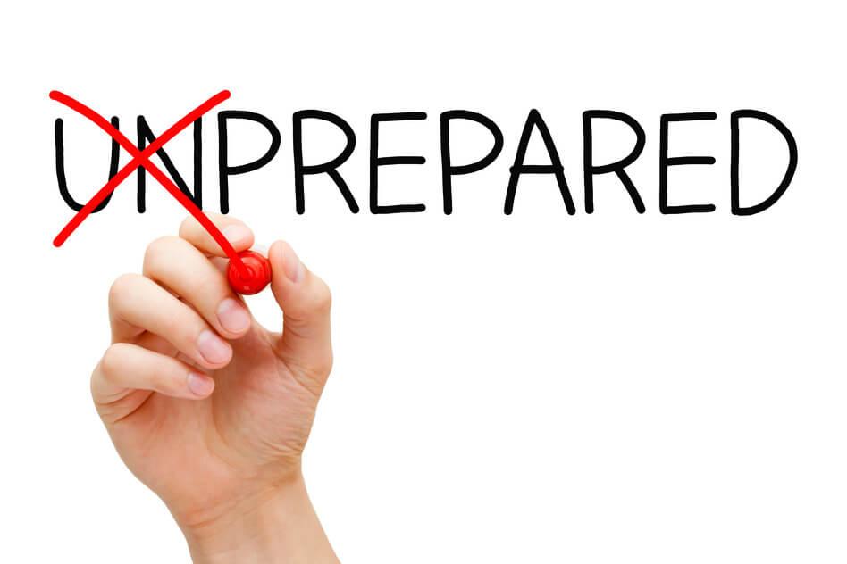 becoming prepared