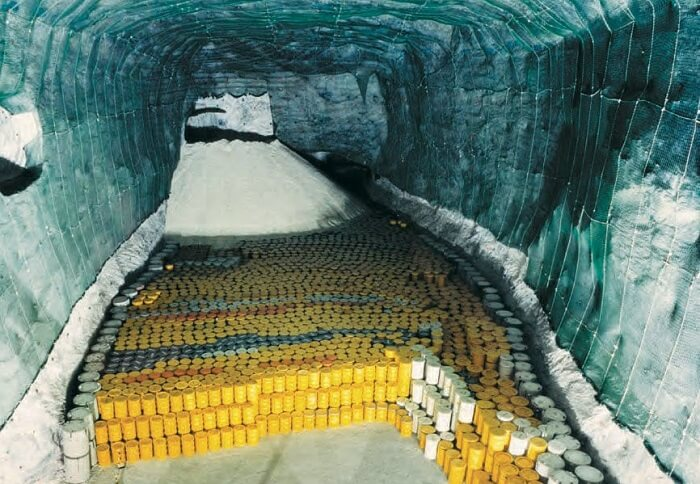 underground disposal of nuclear waste