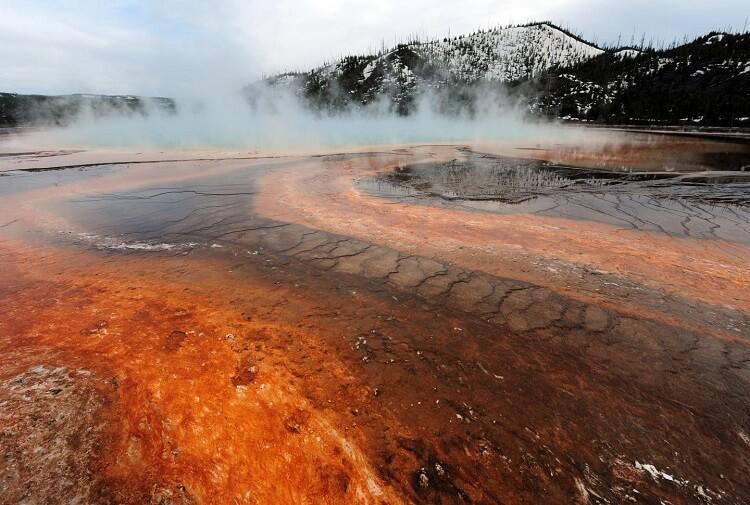 Yellowstone Volcano landscape
