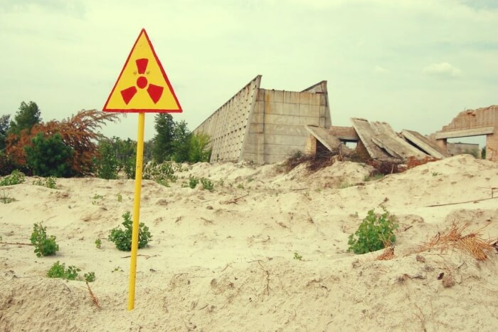 fukushima nuclear disaster photo