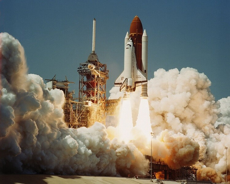 Space Shuttle Challenger Launch