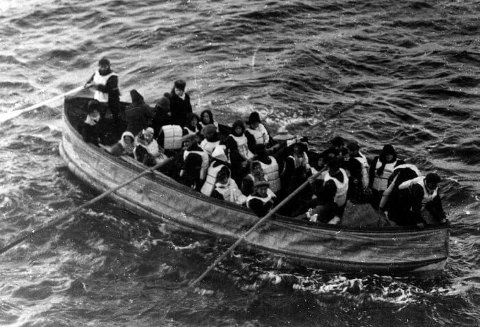 Lifeboat of the RMS Titanic