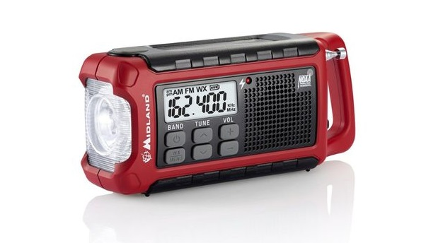 Epica Digital Emergency Solar Hand Crank AM/FM/NOAA Radio