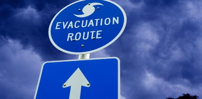 Hurricane Evacuation Route