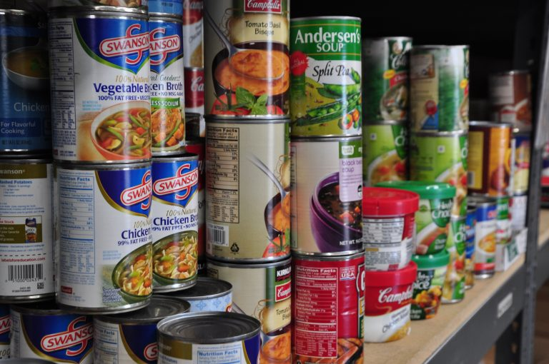 Stock up on non-perishable food in case of disaster.