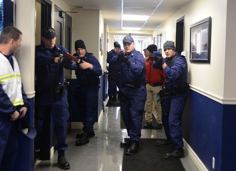 Active shooter drill Buffalo, NY