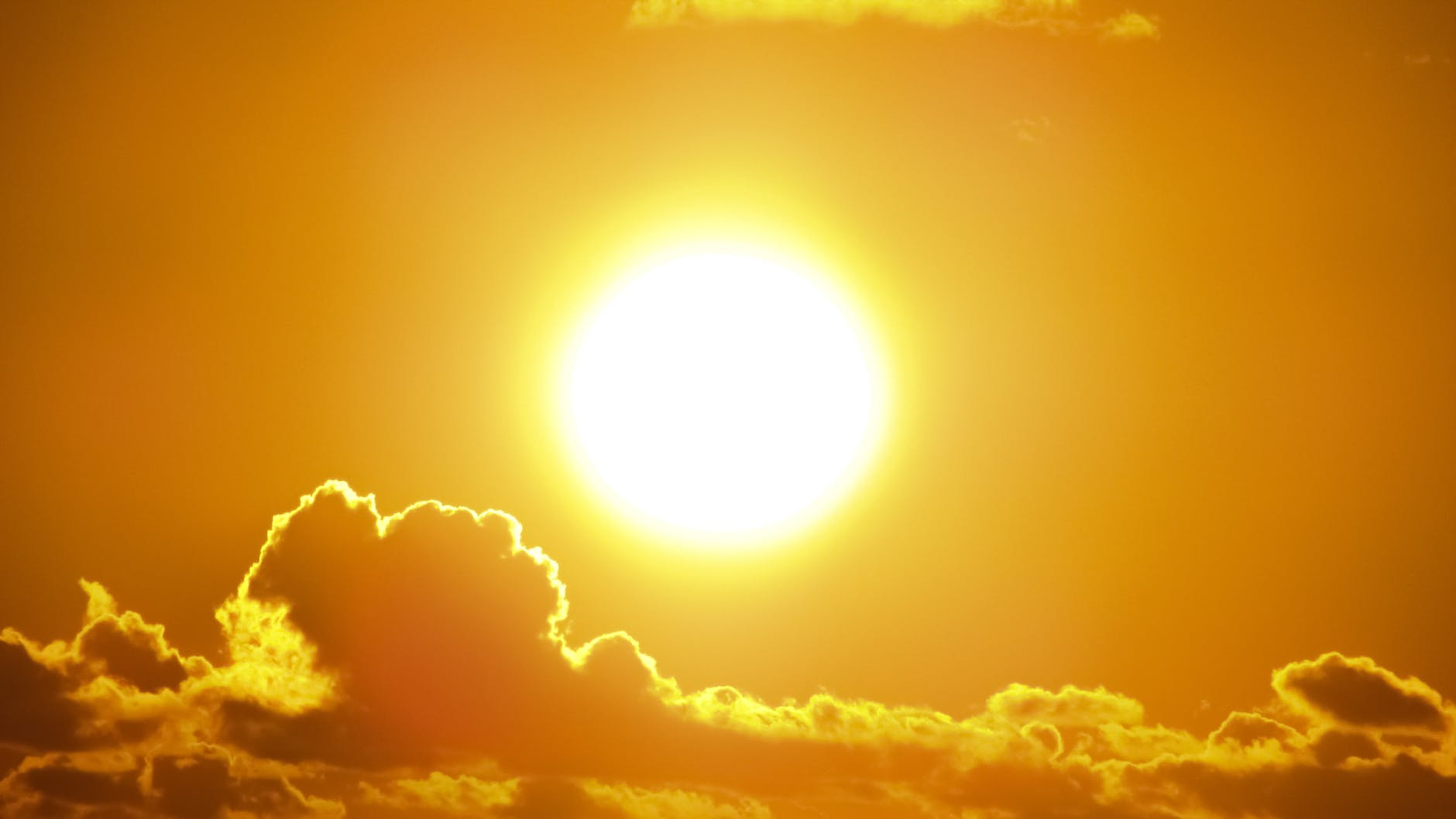 photography of a sun