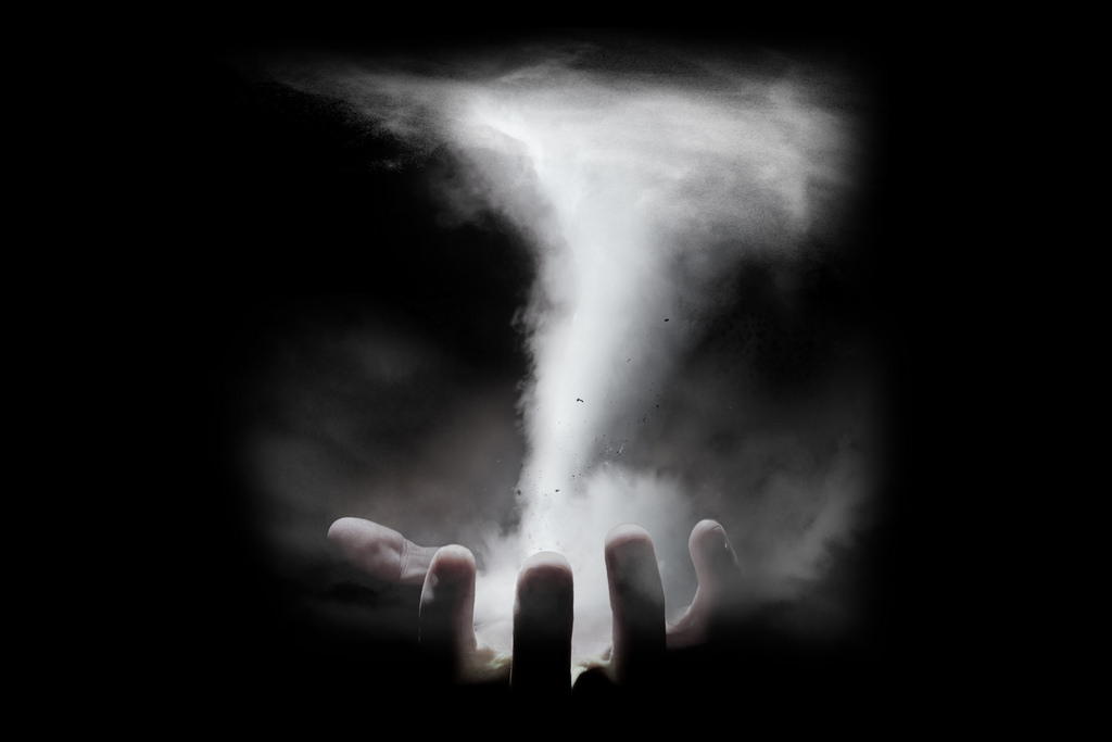 Tornado In Hand